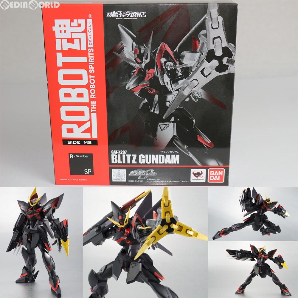 ROBOT SPIRITS Side MS Gundam SEED BLITZ GUNDAM Action Figure BANDAI from Japan