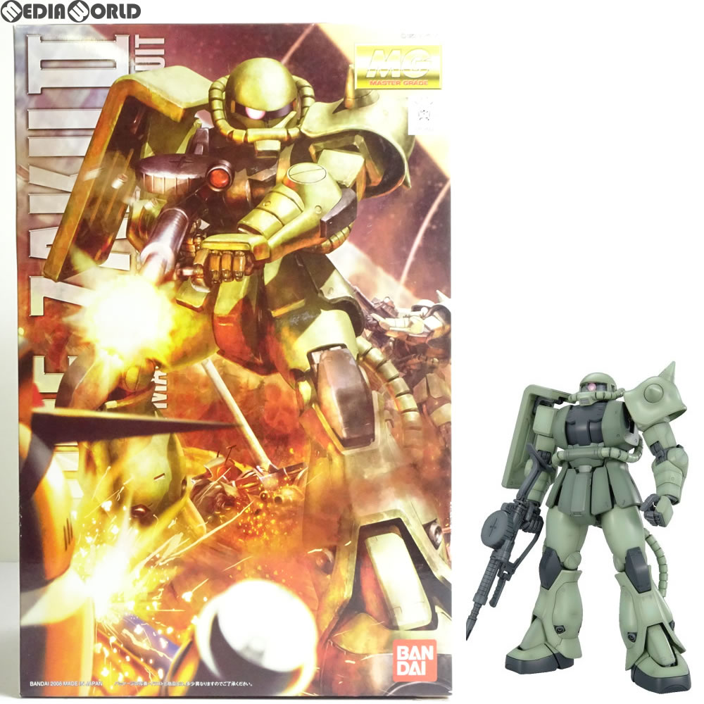 BANDAI MG 1//100 MS-06F ZAKU II Ver 2.0 Plastic Model Kit Mobile Suit Gundam NEW
