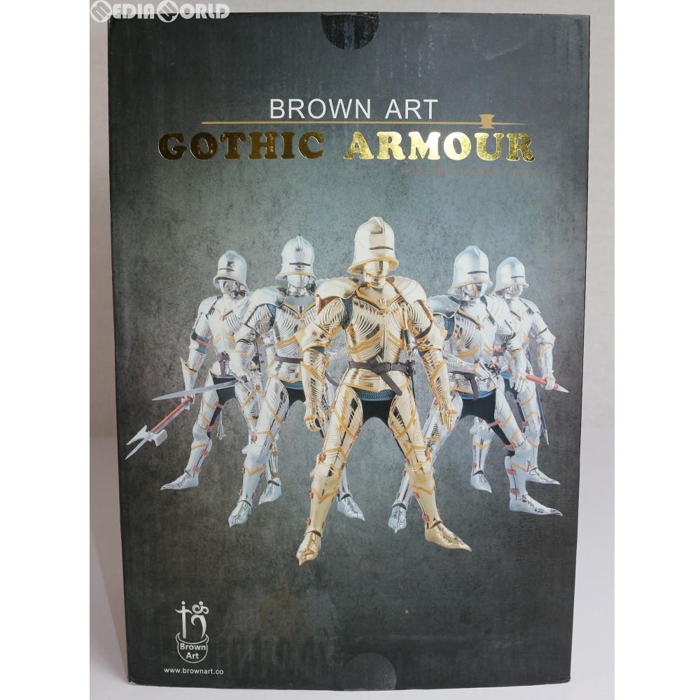 【中古】[FIG]ゴシックアーマーナイト(Gothic Armour Knight) (GOLD Ver.) アクションフィギュア 1/6 完成品(B-A0001G) Brown Art(ブラウンアート)(20171231)