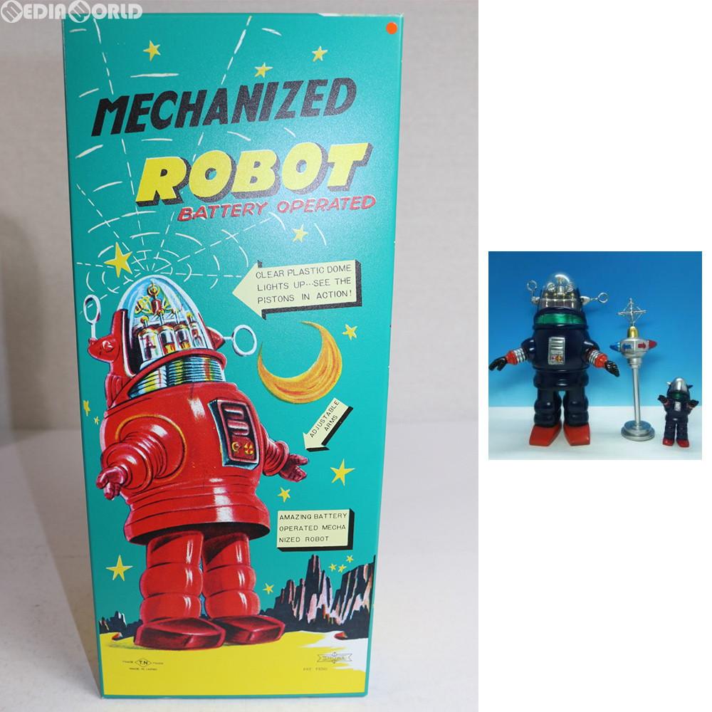 【中古】[FIG]MECHANIZED ROBOT(メカナイズド・ロボット) One up.限定カラー ネイビーブルー Aset 完成品 ソフビフィギュア シカルナ工房(20170420)