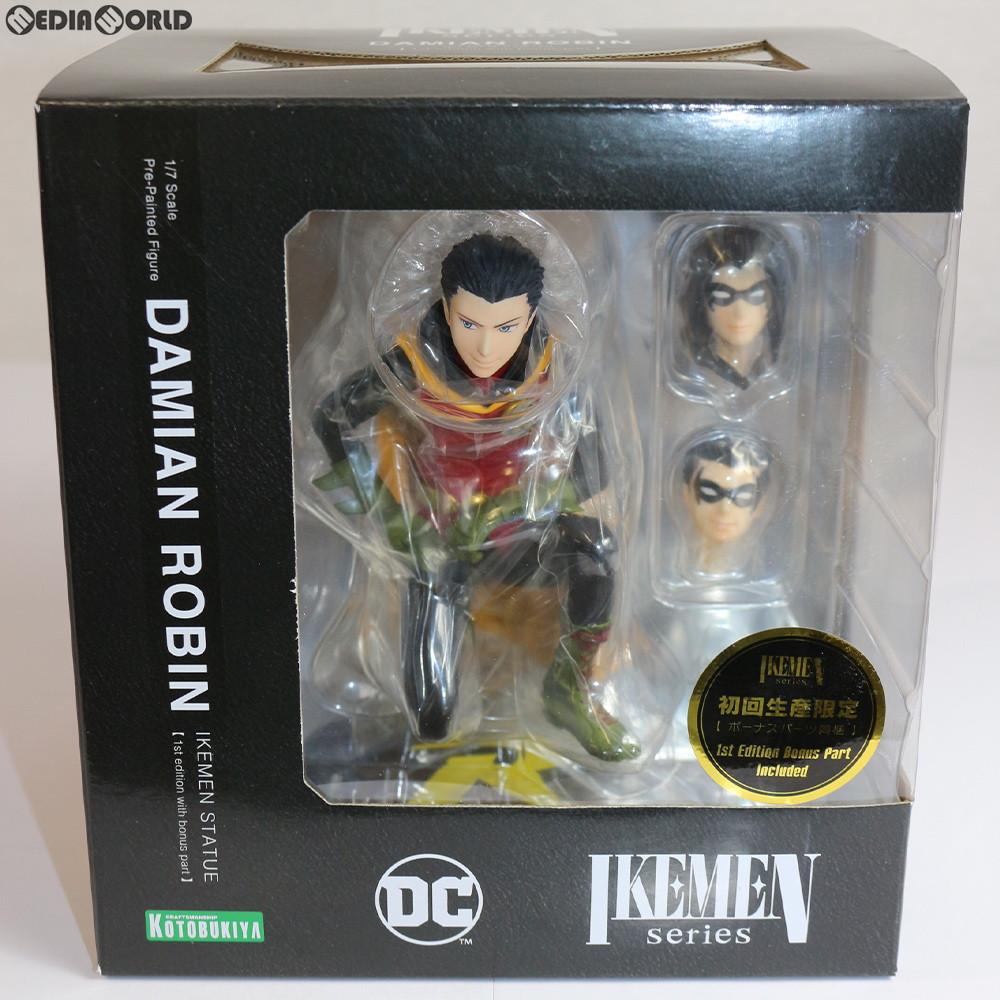 【中古】[未開封][FIG]DC COMICS IKEMEN ダミアンロビン DC UNIVERSE(DCユニバース) 1/7 完成品 フィギュア(DC033) コトブキヤ(20190325)