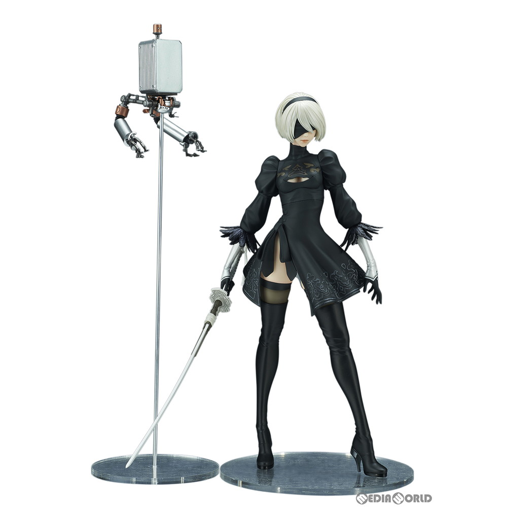 [FIG] NieR: for 2B (ヨルハ two type B) DX Automata (ニーアオートマタ) finished product  figure skating Square Enix /FLARE (flare) (September, 2019)