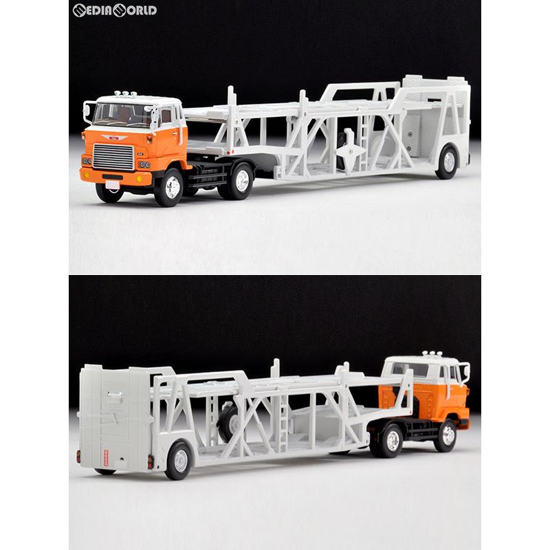 【予約安心発送】[FIG]トミカリミテッドヴィンテージNEO LV-N89d 日野カートランスポーター(白/オレンジ) 1/64 完成品 ミニカー TOMYTEC(トミーテック)(2019年2月)