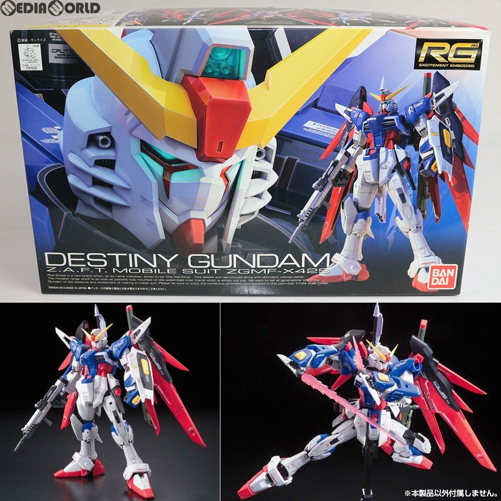 [PTM] RG 1/144 ZGMF-X42S デスティニーガンダム Mobile Suit Gundam SEED DESTINY (シードデスティニー) plastic model (0181595) BANDAI (20130427)
