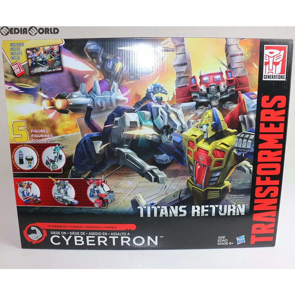 【中古】[未開封][TOY]Transformers Generations Titans Return Siege on Cybertron set(トランスフォーマー ジェネレーションズ タイタンズリターン シージオンサイバトロンセット) 完成トイ ハズブロ(20161231)