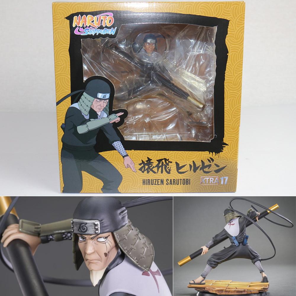 【中古】[FIG]Xtra17 Hiruzen Sarutobi(猿飛ヒルゼン/さるとびひるぜん) NARUTO-ナルト- 疾風伝 完成品 フィギュア(XT17NA) TSUME ART(ツメアート)(20180831)