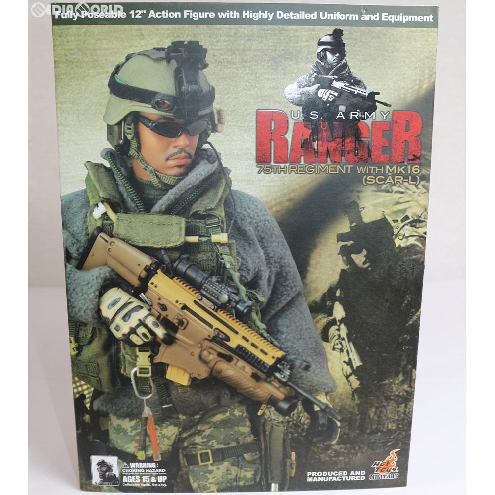 【中古】[未開封][FIG]ホットトイズ・ミリタリー U.S. Army Ranger 75th Regiment (Mk.16 SCAR-L Version) 1/6 完成品 可動フィギュア(M/SF/080532) ホットトイズ(20080930)