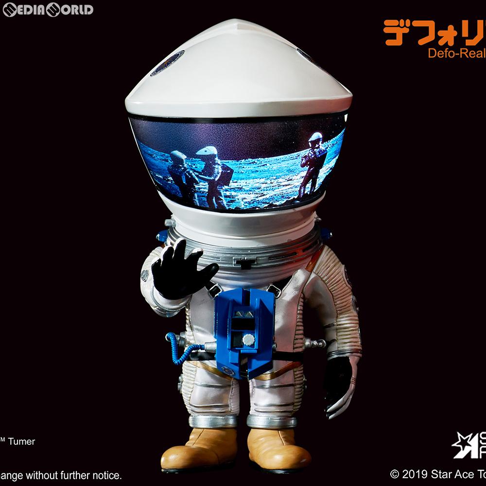 【中古】【箱難あり】[FIG]デフォリアル ディスカバリー アストロノーツ シルバーVer. 2001年宇宙の旅 完成品 フィギュア スターエーストイズ/エクスプラス(20191031)