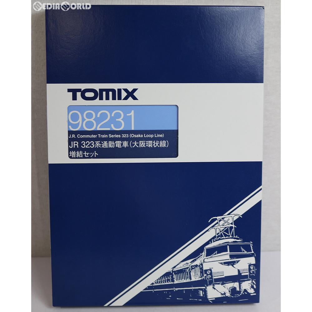 【新品】【O倉庫】[RWM]98231 JR 323系通勤電車(大阪環状線)増結セット(5両) Nゲージ 鉄道模型 TOMIX(トミックス)(20170311)