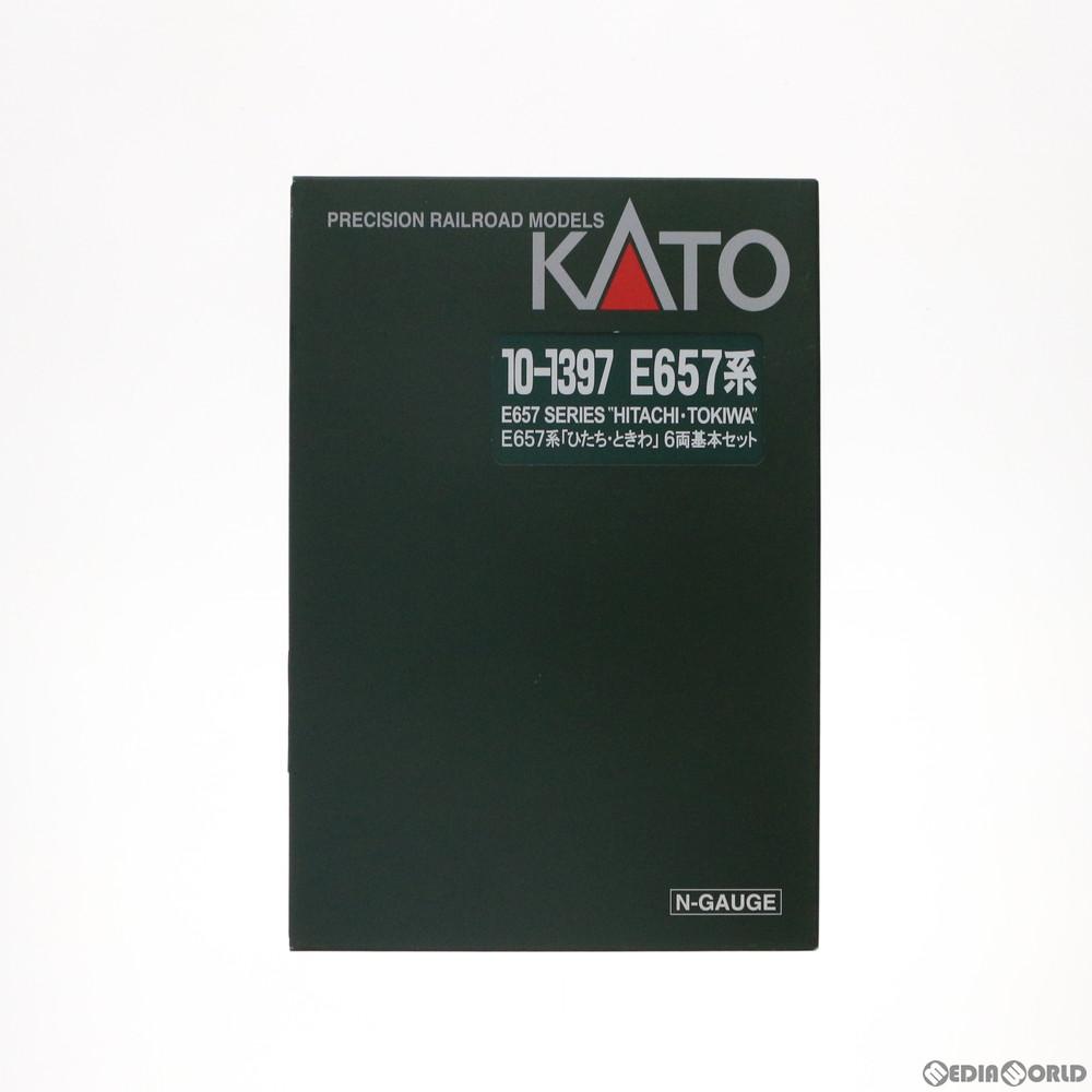 【新品】【O倉庫】[RWM]10-1397 E657系「ひたち・ときわ」 6両基本セット Nゲージ 鉄道模型 KATO(カトー)(20170216)