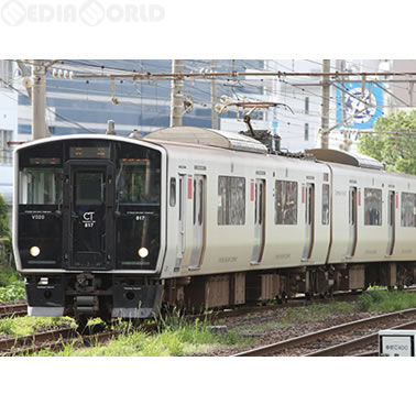 【新品即納】[RWM]30596 JR九州817系0番台(佐世保車) 基本2両編成セット(動力付き) Nゲージ 鉄道模型 GREENMAX(グリーンマックス)(20170304)