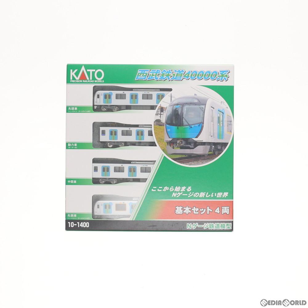 【新品】【O倉庫】[RWM]10-1400 西武40000系 基本セット(4両) Nゲージ 鉄道模型 KATO(カトー)(20170625)