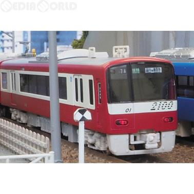 【新品即納】[RWM](再販)30201 京急2100形機器更新車 増結用中間車4両セット(動力無し) Nゲージ 鉄道模型 GREENMAX(グリーンマックス)(20170430)