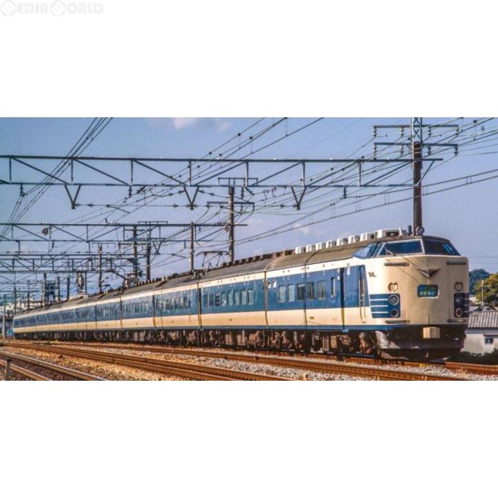 【新品】【O倉庫】[RWM]98968 限定品 JR 583系特急電車(きたぐに・国鉄色)セット(10両) Nゲージ 鉄道模型 TOMIX(トミックス)(20170617)