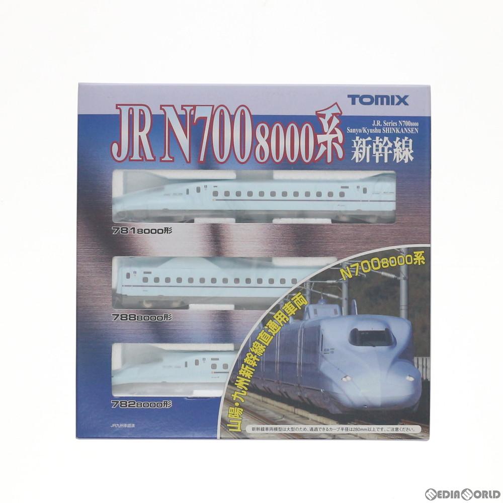 【新品】【O倉庫】[RWM](再販)92411 JR N700-8000系山陽・九州新幹線基本セット(3両) Nゲージ 鉄道模型 TOMIX(トミックス)(20170601)
