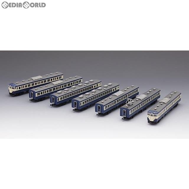 【新品即納】[RWM](再販)92824 国鉄 113-1500系近郊電車(横須賀色)基本セットA(7両) Nゲージ 鉄道模型 TOMIX(トミックス)(20171124)