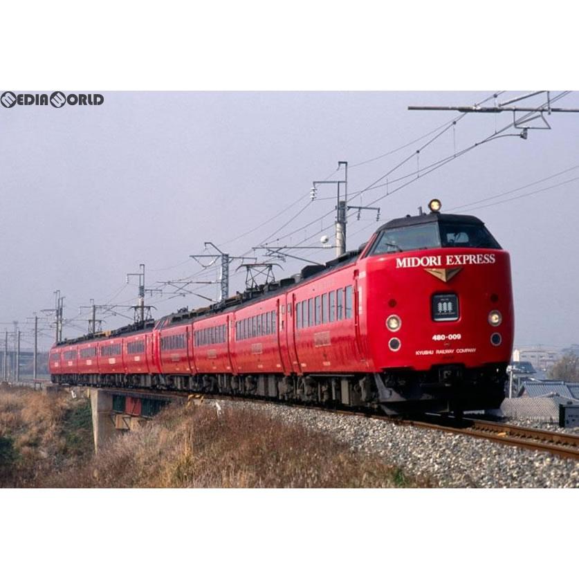 【新品】【O倉庫】[RWM]98251 JR 485系特急電車(MIDORI EXPRESS)セットB(4両) Nゲージ 鉄道模型 TOMIX(トミックス)(20180201)