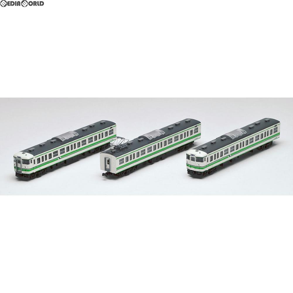 【新品】【O倉庫】[RWM](再々販)92493 JR 115-1000系近郊電車(新潟色)セット(3両) Nゲージ 鉄道模型 TOMIX(トミックス)(20190301)