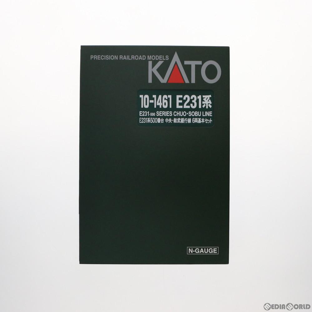 【新品】【O倉庫】[RWM]10-1461 E231系500番台 中央・総武緩行線 6両基本セット Nゲージ 鉄道模型 KATO(カトー)(20180201)