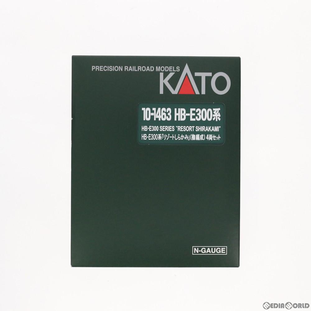 【新品】【O倉庫】[RWM]10-1463 HB-E300系「リゾートしらかみ」(ブナ編成) 4両セット Nゲージ 鉄道模型 KATO(カトー)(20180329)