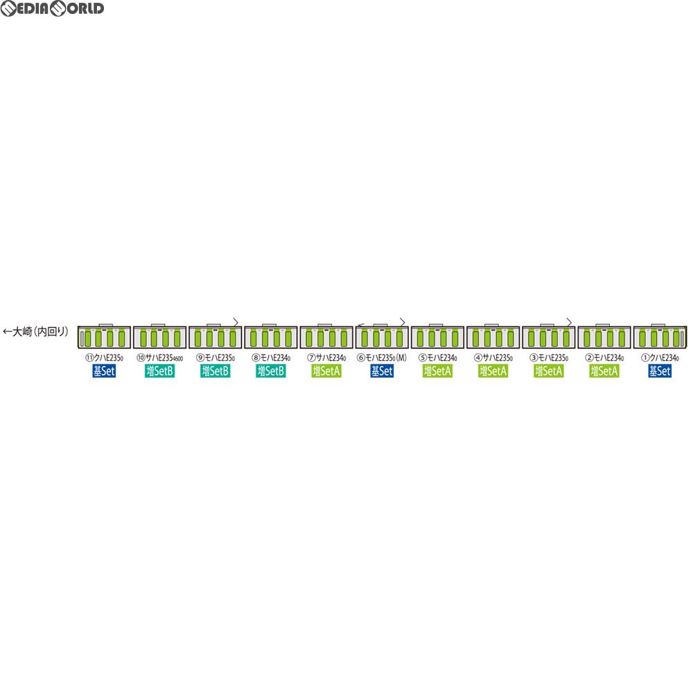 【新品】【O倉庫】[RWM]92590 JR E235系通勤電車(山手線)増結セットA(5両) Nゲージ 鉄道模型 TOMIX(トミックス)(20180428)