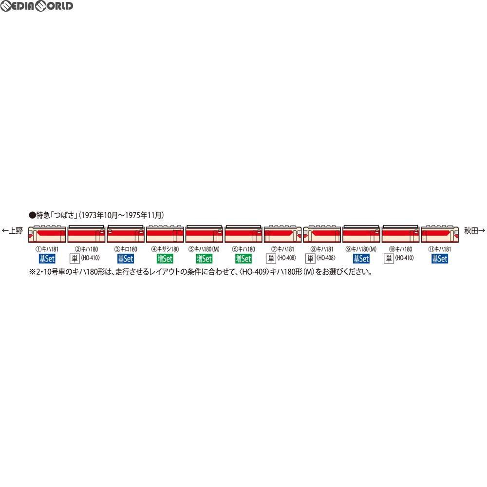 【新品即納】[RWM]HO-9032 国鉄 キハ181系特急ディーゼルカー基本セット(4両) HOゲージ 鉄道模型 TOMIX(トミックス)(20180331)