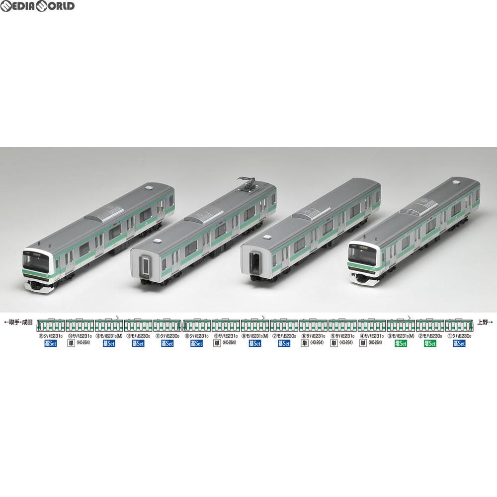 【新品即納】[RWM](再販)HO-9006 JR E231-0系通勤電車(常磐・成田線)基本セット(4両) HOゲージ 鉄道模型 TOMIX(トミックス)(20180324)
