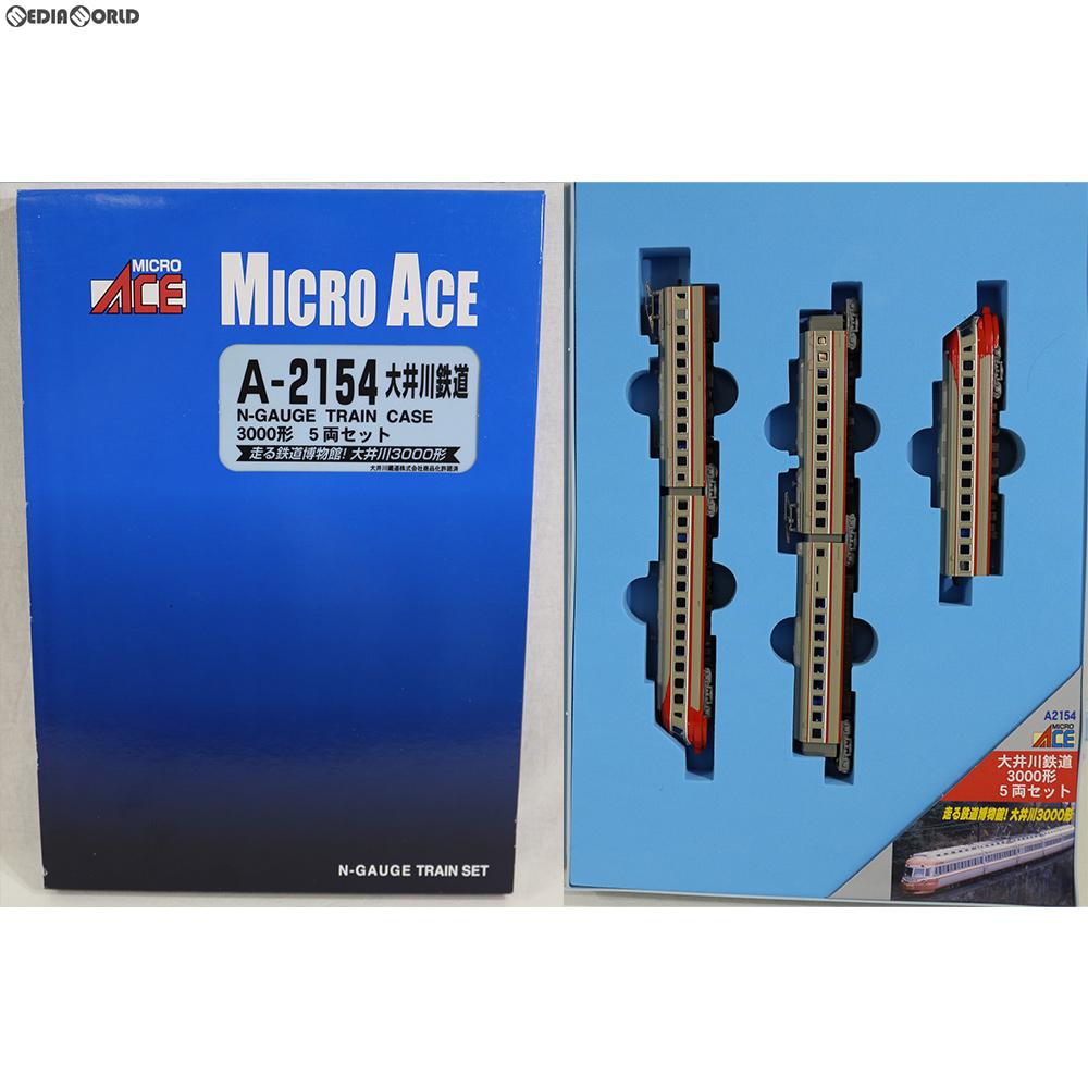 【中古】[RWM]A2154 大井川鉄道3000形 5両セット Nゲージ 鉄道模型 MICRO ACE(マイクロエース)(20180601)