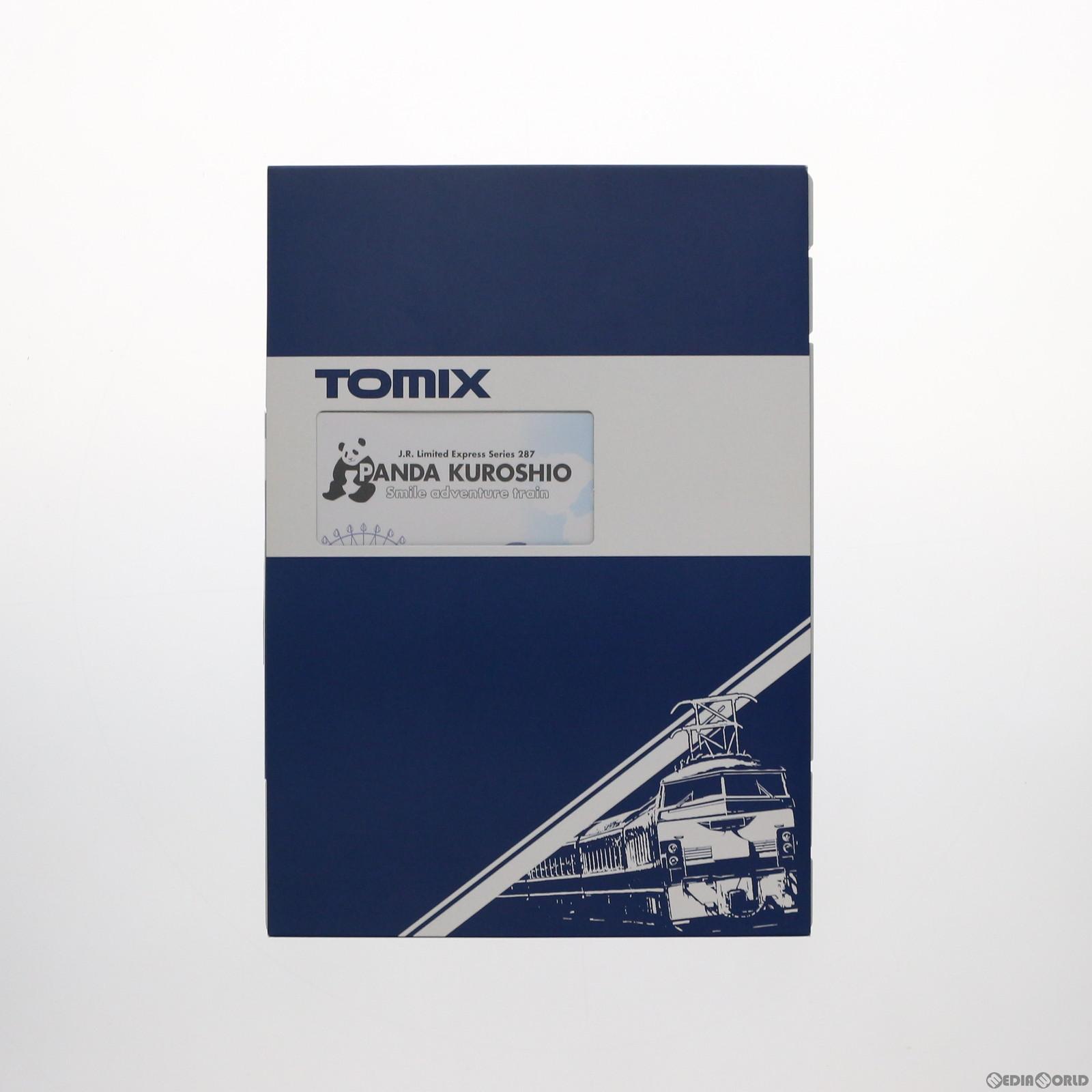 【新品】【O倉庫】[RWM]98987 限定品 JR 287系特急電車(パンダくろしお・Smileアドベンチャートレイン)(6両) Nゲージ 鉄道模型 TOMIX(トミックス)(20180601)