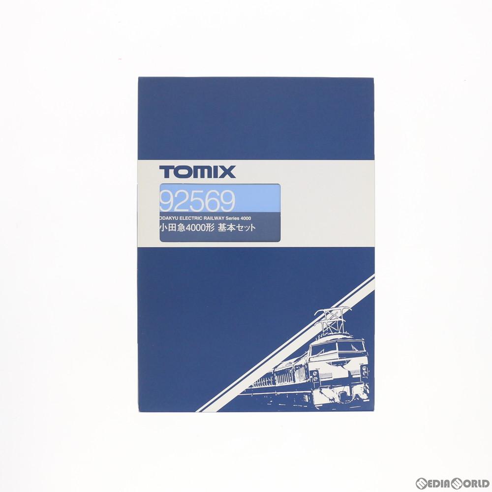 【新品】【O倉庫】[RWM](再販)92569 小田急4000形基本セット(4両) Nゲージ 鉄道模型 TOMIX(トミックス)(20180701)