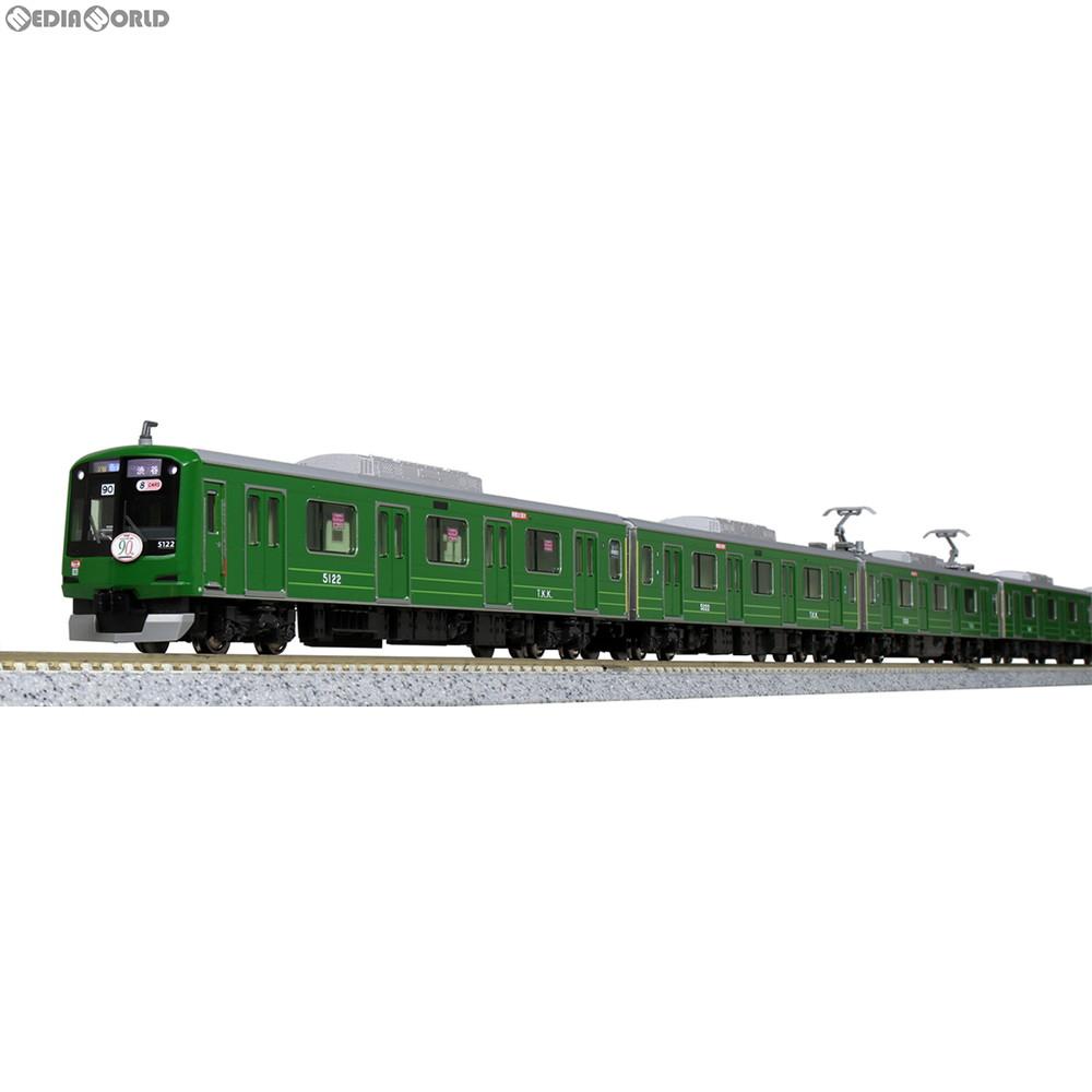 【新品】【O倉庫】[RWM]10-1456 特別企画品 東急電鉄 東横線 5000系 青ガエル ラッピング編成 8両セット Nゲージ 鉄道模型 KATO(カトー)(20180707)