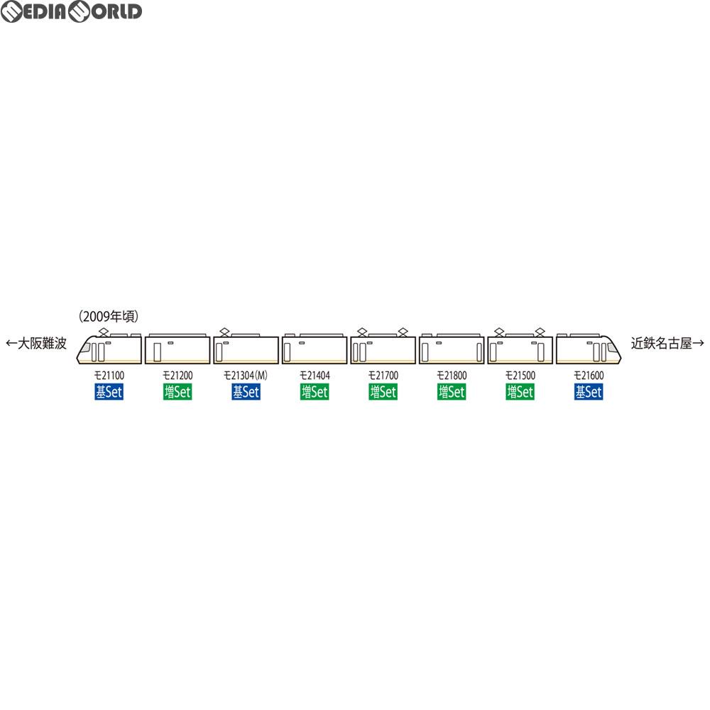【予約前日発送】[RWM]98292 近畿日本鉄道21000系アーバンライナーplus増結セット(5両) Nゲージ 鉄道模型 TOMIX(トミックス)(2018年8月)