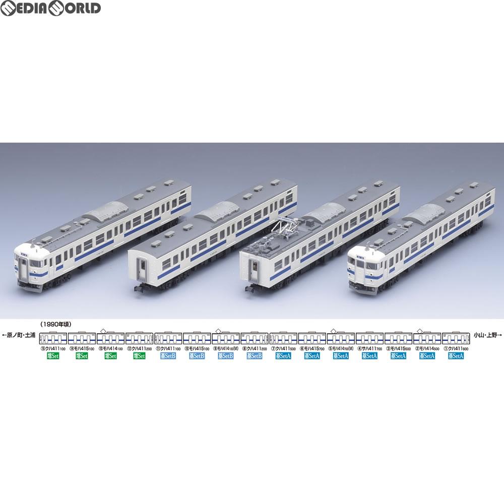 【新品】【O倉庫】[RWM](再販)92885 国鉄 415系近郊電車(常磐線)基本セットB(4両) Nゲージ 鉄道模型 TOMIX(トミックス)(20180731)