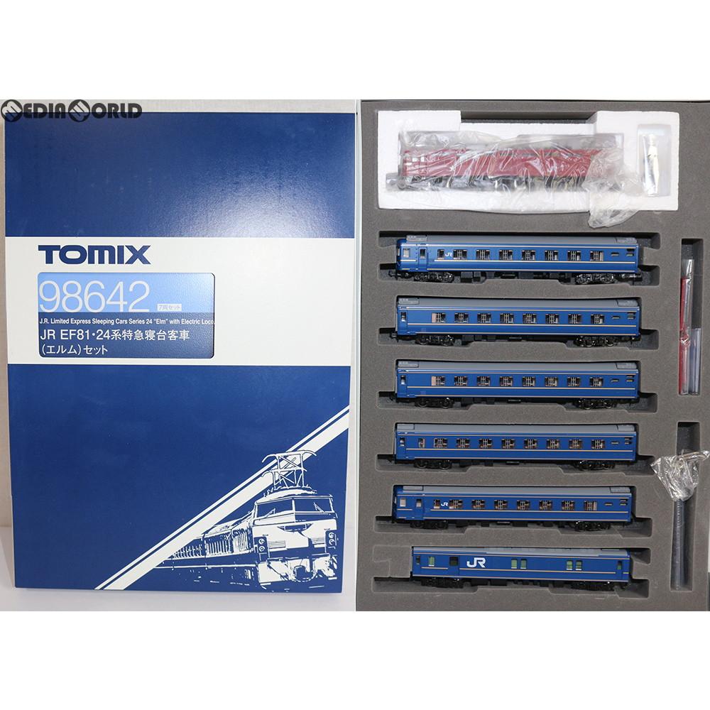 【新品】【O倉庫】[RWM]98642 JR EF81・24系特急寝台客車(エルム)セット(7両) Nゲージ 鉄道模型 TOMIX(トミックス)(20180901)