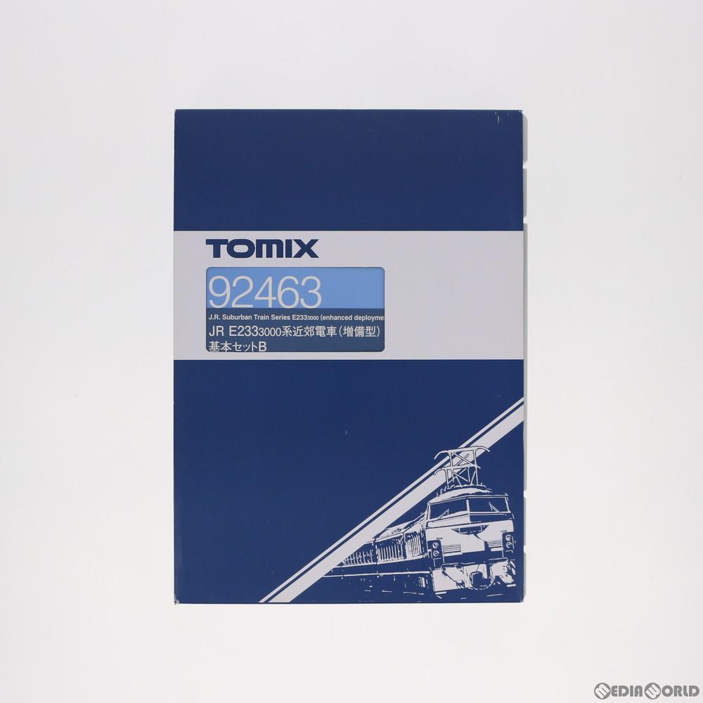 【新品】【O倉庫】[RWM](再販)92463 JR E233-3000系近郊電車(増備型) 基本セットB(5両) Nゲージ 鉄道模型 TOMIX(トミックス)(20191129)