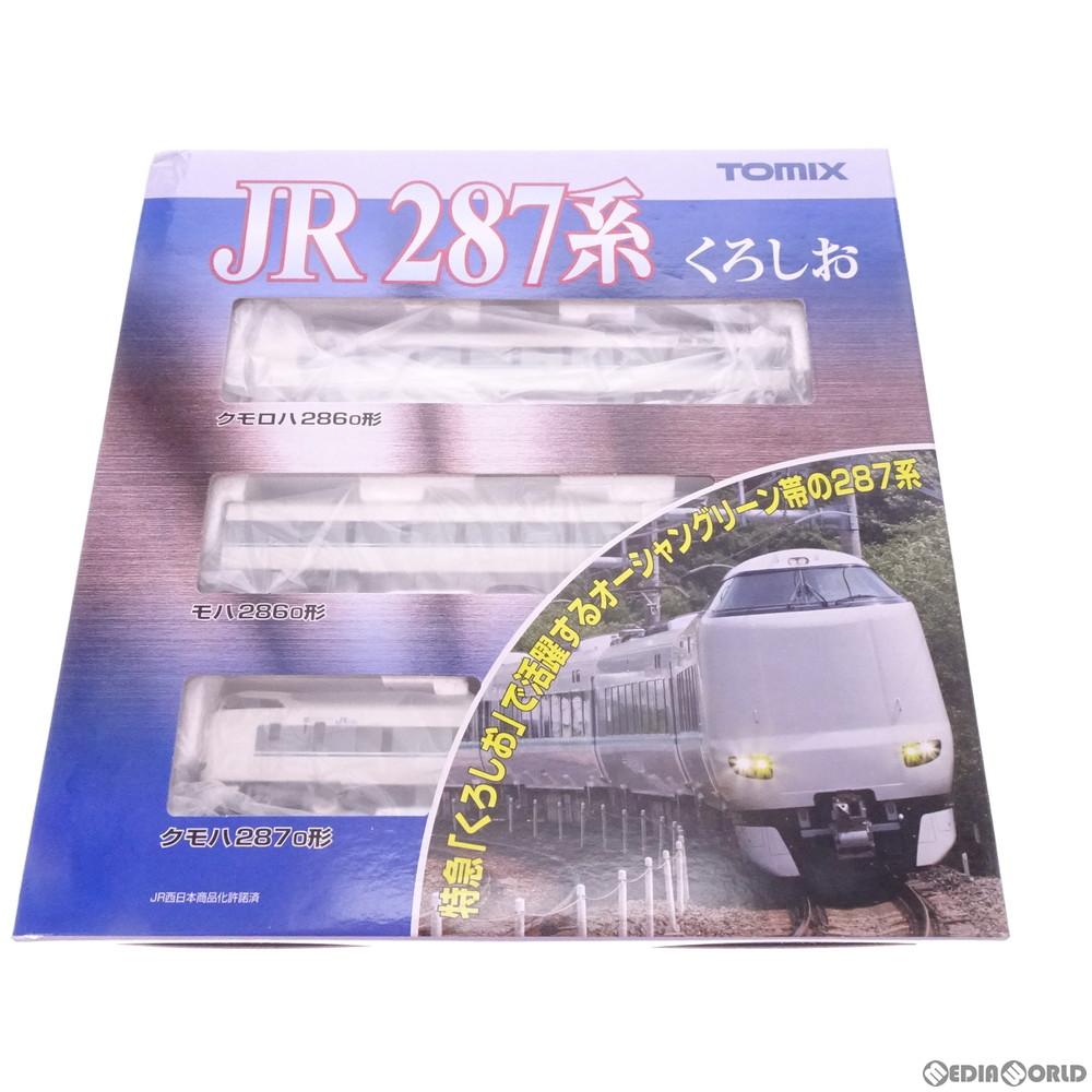 【新品】【O倉庫】[RWM](再販)92472 JR 287系特急電車(くろしお) 基本セットA(3両) Nゲージ 鉄道模型 TOMIX(トミックス)(20190831)