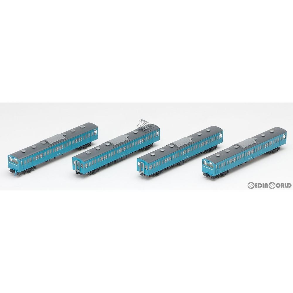 【予約安心発送】[RWM](再販)92586 国鉄 103系通勤電車(高運転台非ATC車・スカイブルー) 基本セット(4両) Nゲージ 鉄道模型 TOMIX(トミックス)(2020年6月)