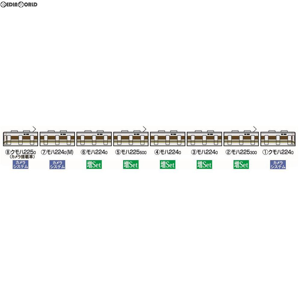 【新品】【O倉庫】[RWM]5595 車載カメラシステムセット(225-0系)(3両) Nゲージ 鉄道模型 TOMIX(トミックス)(20181228)