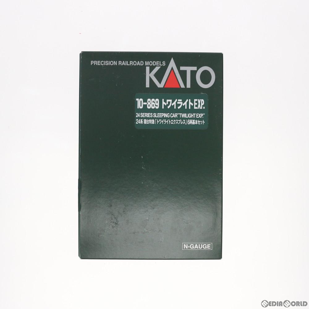 【新品】【O倉庫】[RWM](再販)10-869 24系寝台特急『トワイライトエクスプレス』基本6両セット Nゲージ 鉄道模型 KATO(カトー)(20181223)