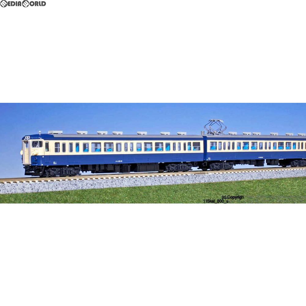 【新品】【O倉庫】[RWM]10-1118 115系800番台 横須賀色 基本4両セット Nゲージ 鉄道模型 KATO(カトー)(20160325)