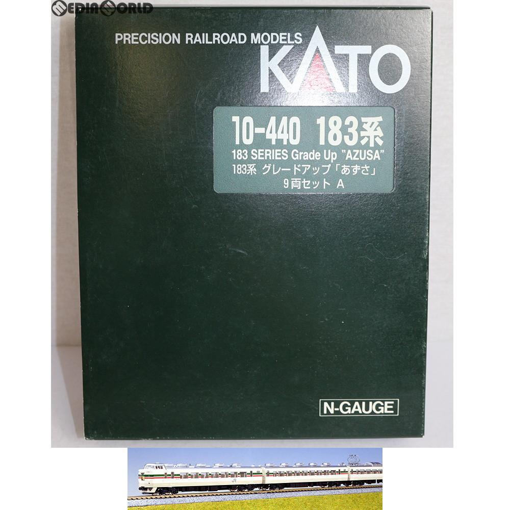 【中古】[RWM]10-440 特別企画品 183系 グレードアップ「あずさ」 9両セット Nゲージ 鉄道模型 KATO(カトー)(20020808)