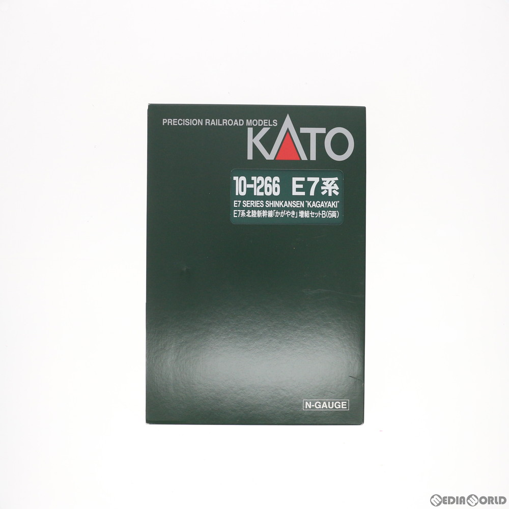 【新品】【O倉庫】[RWM]10-1266 E7系 北陸新幹線 「かがやき」 増結Bセット(6両) Nゲージ 鉄道模型 KATO(カトー)(20150423)