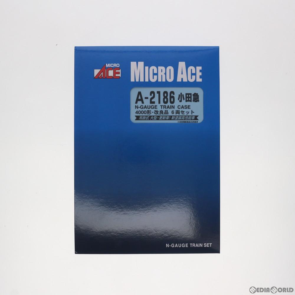 【予約前日発送】[RWM]A2186 小田急4000形 改良品 6両セット Nゲージ 鉄道模型 MICRO ACE(マイクロエース)(2018年10月)