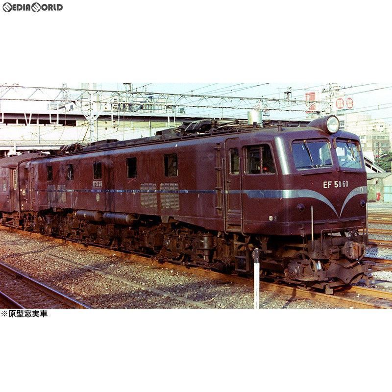 【新品即納】[RWM]16番 国鉄 EF58 60号機 電気機関車 原型窓仕様 組立キット HOゲージ 鉄道模型 ワールド工芸(20180930)