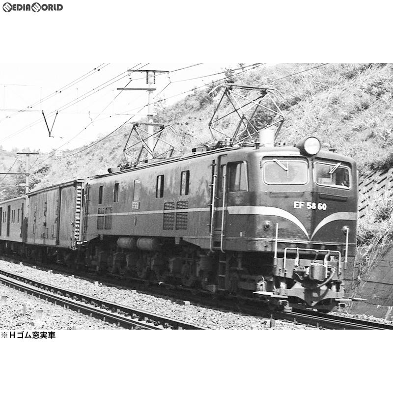 【新品即納】[RWM]16番 国鉄 EF58 60号機 電気機関車 Hゴム窓仕様 組立キット HOゲージ 鉄道模型 ワールド工芸(20180930)