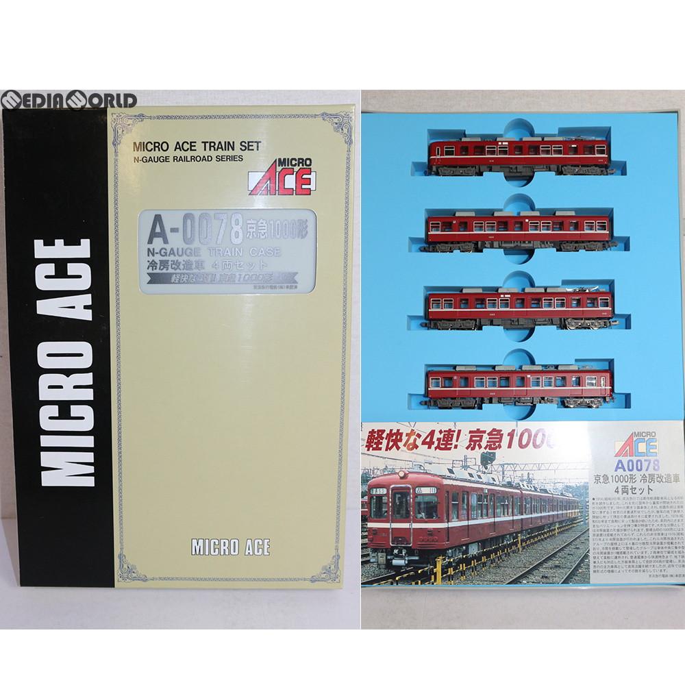 【中古】[RWM]A0078 京急 1000形 冷房改造車 4両セット Nゲージ 鉄道模型 MICRO ACE(マイクロエース)(20090130)