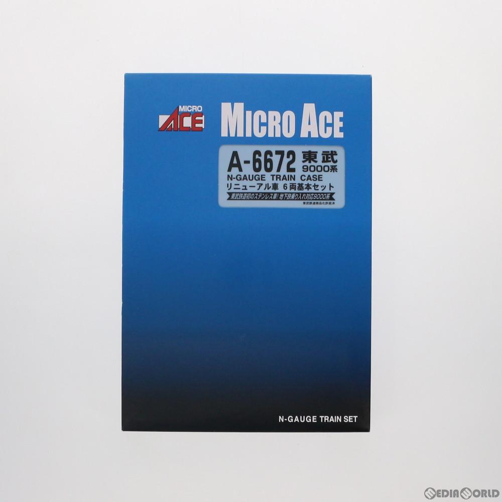 【予約安心発送】[RWM](再販)A6672 東武9000系 リニューアル車 6両基本セット Nゲージ 鉄道模型 MICRO ACE(マイクロエース)(2019年3月)