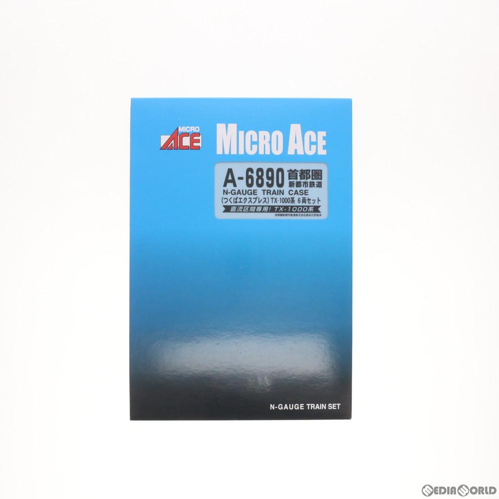 【中古】[RWM]A6890 首都圏新都市鉄道(つくばエクスプレス) TX-1000系 6両セット Nゲージ 鉄道模型 MICRO ACE(マイクロエース)(20120930)