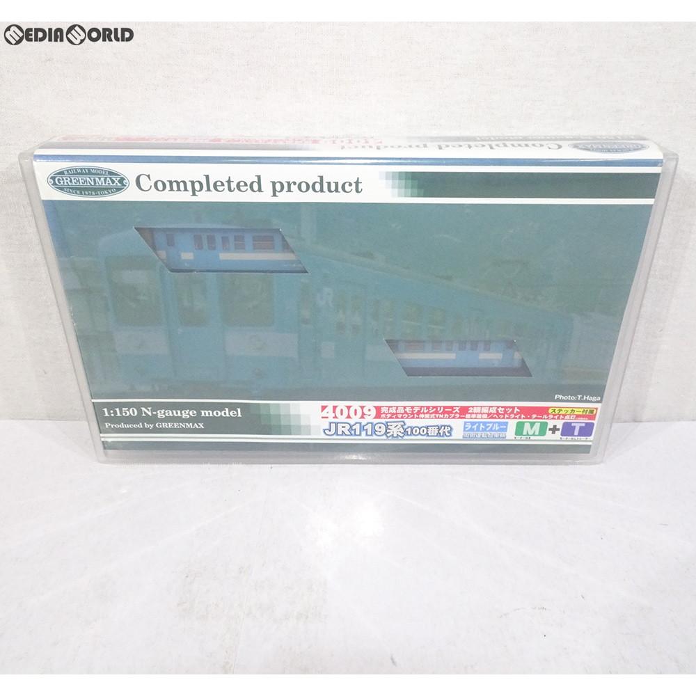 【中古】[RWM]4009 JR119系100番代(飯田色) 基本2輛編成セット(動力付き) Nゲージ 鉄道模型 GREENMAX(グリーンマックス)(20030912)