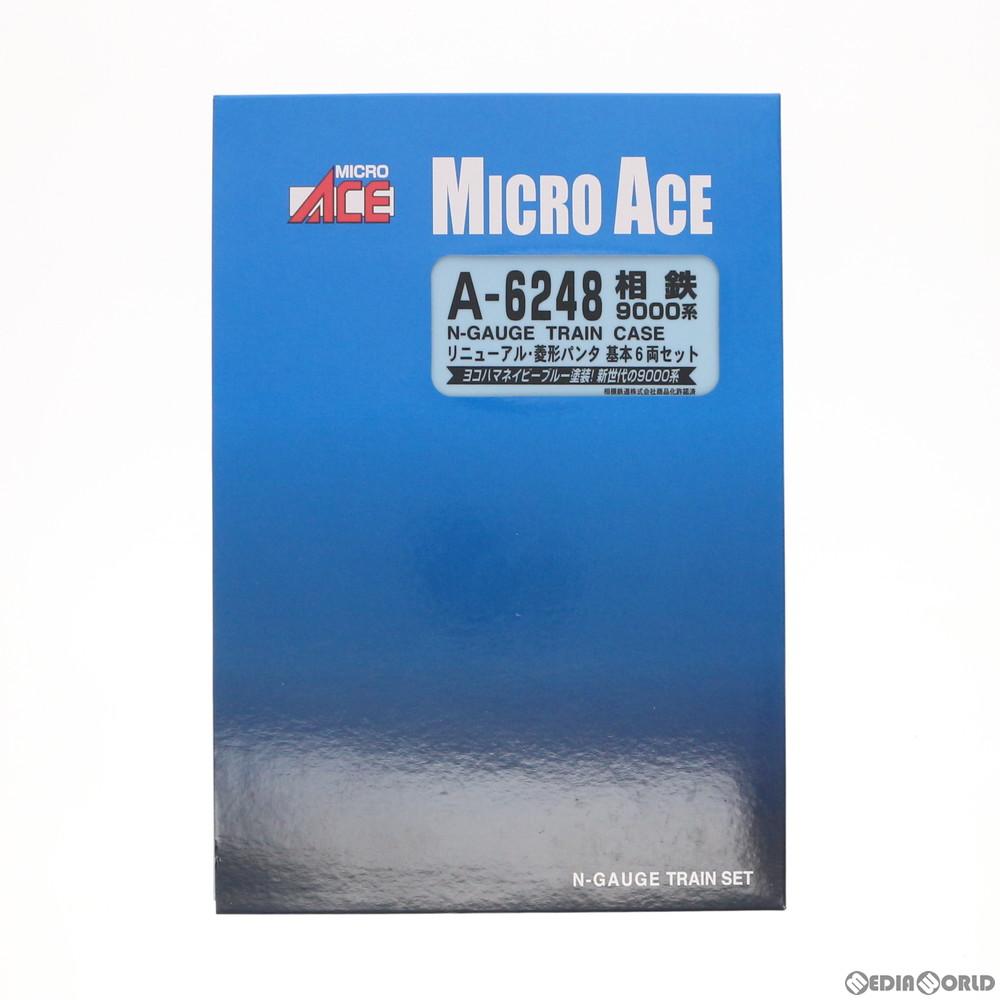 【予約安心発送】[RWM]A6248 相鉄9000系 リニューアル 菱形パンタ 基本6両セット Nゲージ 鉄道模型 MICRO ACE(マイクロエース)(2018年12月)